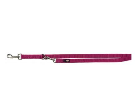 """Перестежка """"Premium"""" нейлон, M–L: 2.00 м/20 мм ярко-розовая"""