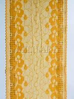 Кружево эластичное желтое 889-17