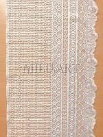 Кружево эластичное молочное 1093-19