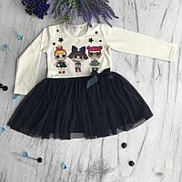 Платье на девочку Breeze Лол 1. Размеры 92 см, 98 см, 104 см, 110 см, фото 1