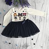 Платье на девочку Breeze Лол 1. Размеры 92 см, фото 2