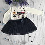 Платье на девочку Breeze Лол 1. Размеры 92 см, фото 3