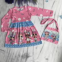 Платье на девочку Лол 2. Размеры 98 см, 122 см