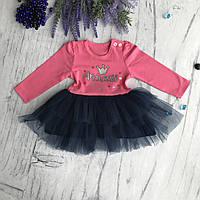 Платье на девочку Breeze 11-ф. Размер 68 см,  80 см, 86 см