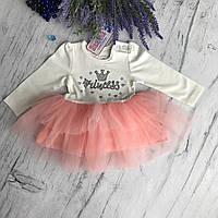 Платье на девочку Breeze 11-ц. Размер 80 см, 86 см