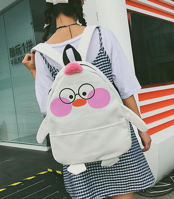 Рюкзак белый Цыплёнок