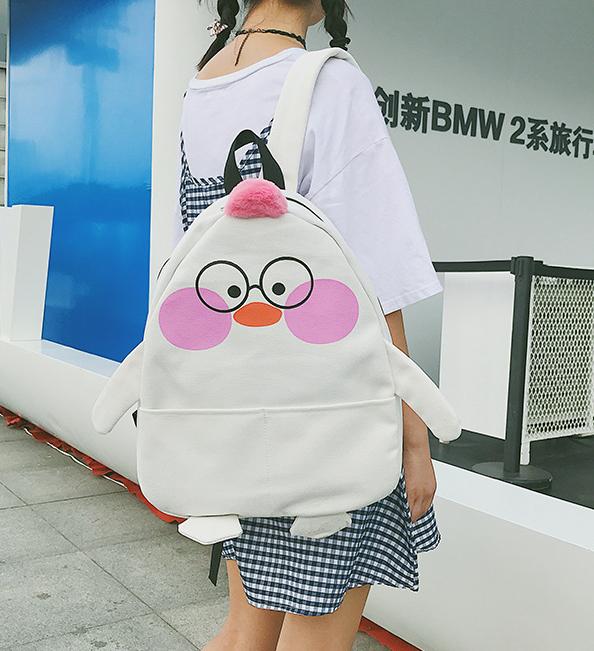 Рюкзак для девочки Цыплёнок