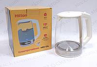 Чайник электрический Hilton HEK 174 стеклянный 1.7 л, фото 1