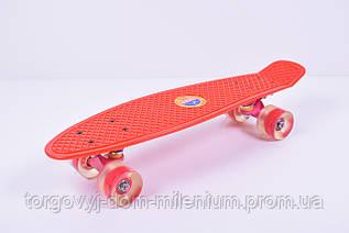 Скейт  (колёса  PU, ) 2406