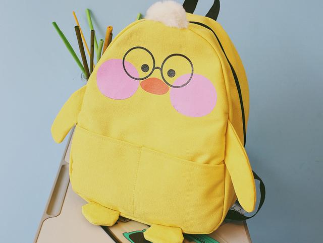 Рюкзак Цыплёнок. Вид спереди