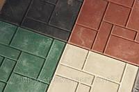 """Плитка тротуарная """"Шоколадка"""", цветная"""
