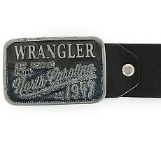 Ремень Wrangler Mens CTF Buckle Belt - Black