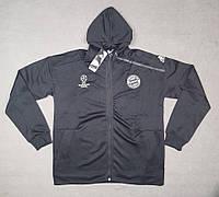 Мужская спортивная олимпийка (кофта) Бавария-Адидас, Bavaria, Adidas с  капюшоном, 2ef327c7edb