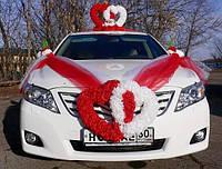 Украшение для свадебной машины 024