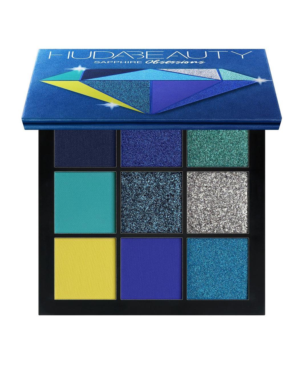 Палетка теней HUDA BEAUTY Sapphire Obsessions Palette