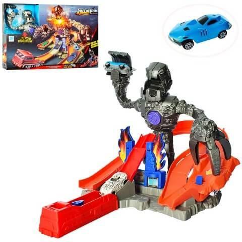 Гоночный автотрек Битва с роботом 9988-2