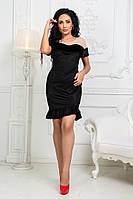 Женское модное платье  КВ739, фото 1