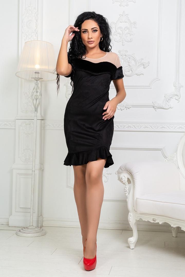 Женское модное платье  КВ739