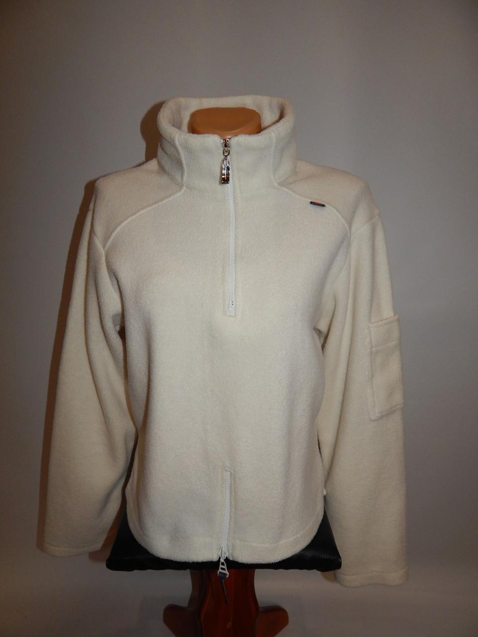Женская плотная короткая спортивная флисовая  кофта Janina 44-46 р.008GF