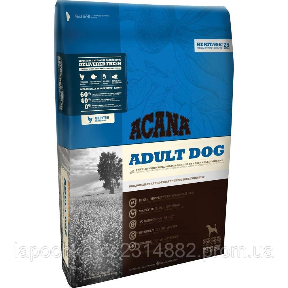 Корм Acana Adult Dog для взрослых собак с курицей