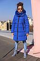 Пальто детское зимнее Вики- 2 ТМ Нуи Вери - Размеры 116 - 158 Натуральный мех песца, фото 6