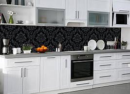 Кухонный фартук Классика, (полноцветная фотопечать, наклейка на стеновую панель кухни, королевский стиль, абстракция)