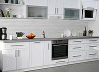 Кухонный фартук Текстура 02, (полноцветная фотопечать, наклейка на стеновую панель кухни, плитка, под кирпич, абстракция)