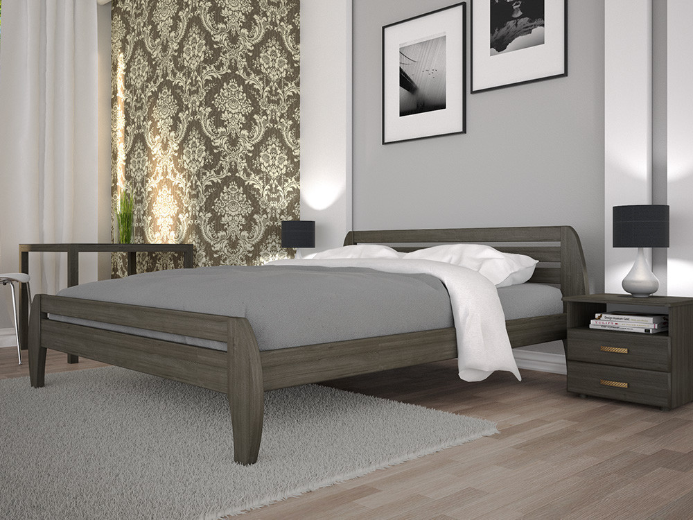 Кровать НОВОЕ-1 140х190 сосна