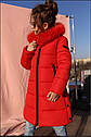 Пальто детское зимнее Вики- 2 ТМ Нуи Вери - Размеры 116 - 158 Натуральный мех песца, фото 3