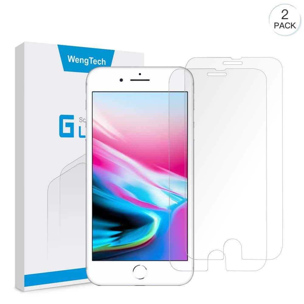 Защитная пленка для iPhone 7 Plus/8 Plus (5.5)  WengTech из закаленного стекла 2 шт