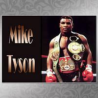 Плакат Майк Тайсон 02