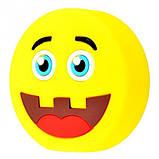 """Компактний зовнішній акумулятор PowerBank Emoji """"Смайлик в капелюсі"""" 8800 mAh 01010, фото 2"""