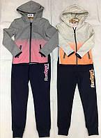 Трикотажный костюм 2 в 1 для девочек оптом, Lemon Tree, 6-16 лет,  № 7318, фото 1