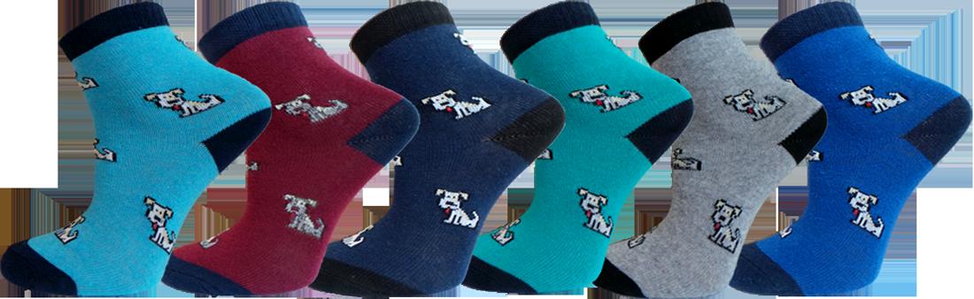 """Дитячі шкарпетки собачка """"lomani"""""""