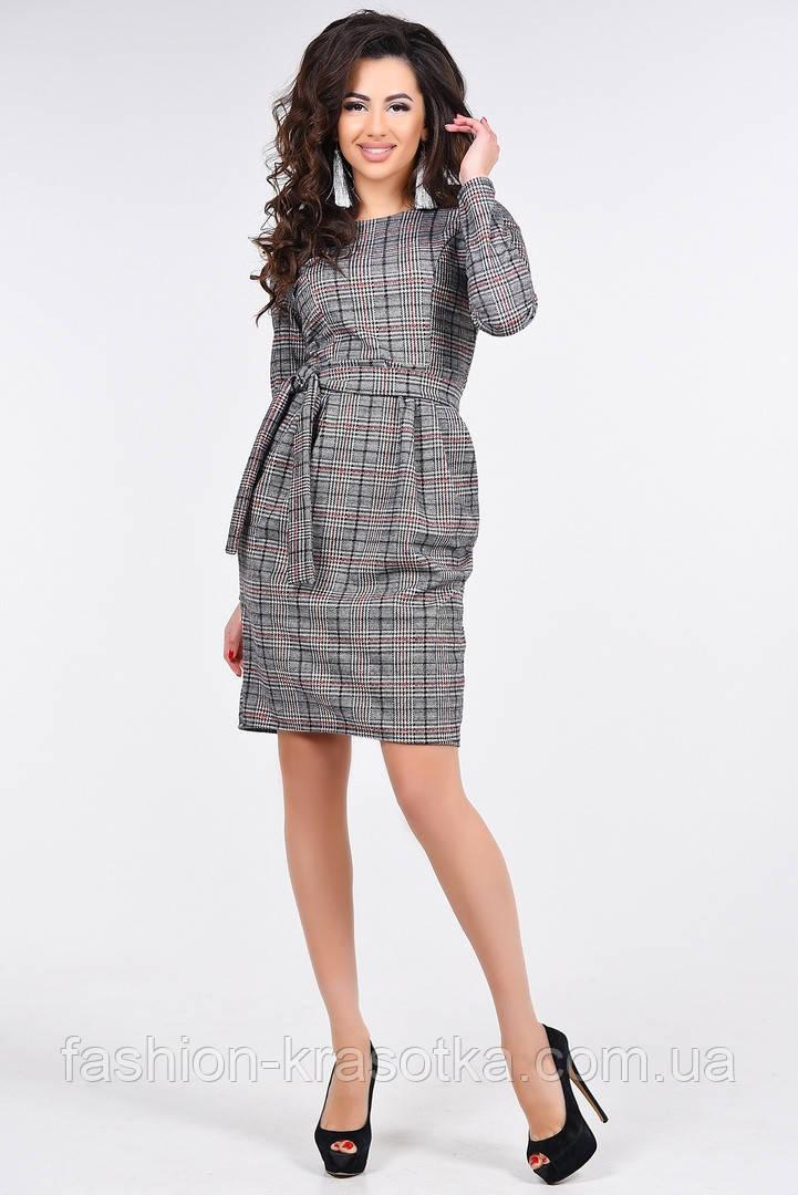 Теплое женское платье,размеры 44-50.