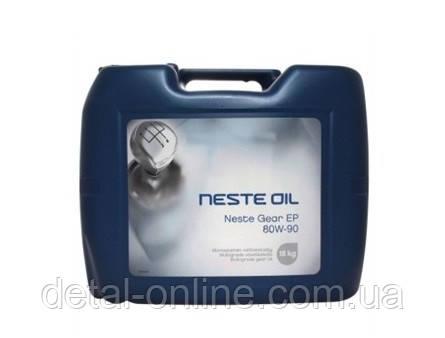 Купить NESTE Gear EP 80W-90 Трансмиссионное масло (20л)