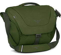 Сумка Osprey Flap Jack Courier (20л), зелена