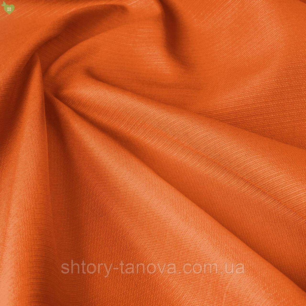 Уличная ткань с фактурой оранжевого цвета для павильона