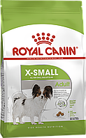 Royal Canin X-Small Adult сухой корм для собак от 10 месяцев 3КГ