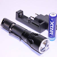 Xtar B20 Pilot II Туристический фонарь, светодиод XM-L2 U3 радужный рефлектор 1100 lm IPX-8