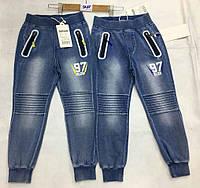 Брюки под джинс для мальчиков оптом, F&D, 4-12 лет,  № 5477, фото 1