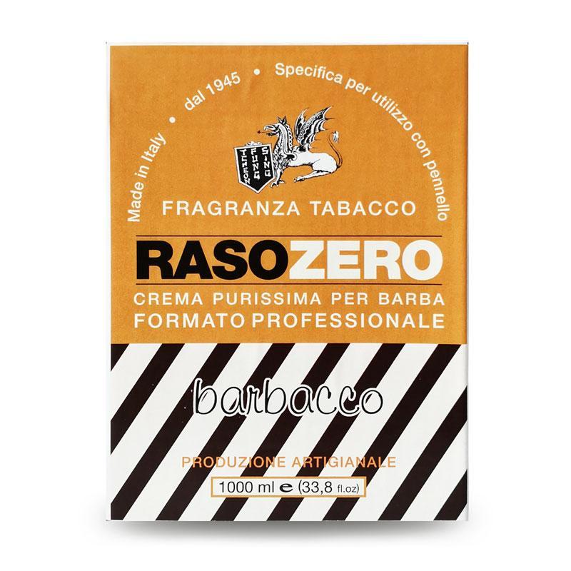 Мыло для бритья Rasozero Barbacco 1 кг. Made in Italy.