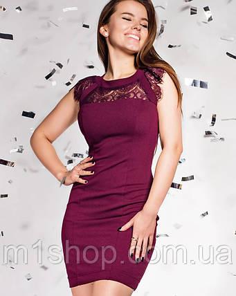 Женское облегающее платье-мини без рукавов (Ливия jd), фото 2
