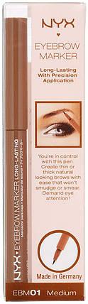 Маркеры для бровей NYX Eyebrow Marker - Medium, фото 2