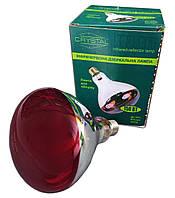 Лампа инфракрасная ИКЗК 150 Вт Е27 в коробочке (Crystal)