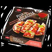 Пицца FOCACCIA с курицей и сладким соусом чили