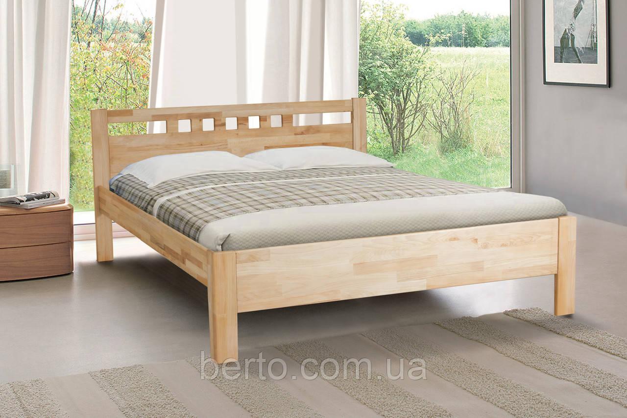 Ліжко двоспальне дерево 160 Sandy Мікс меблі