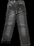 Джинсы мужские Утеплённые Franco Benussi FB 727 серые, фото 2