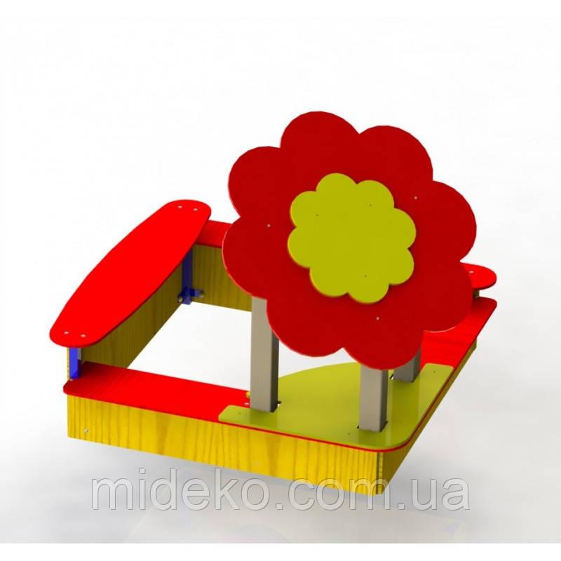 """Пісочний дворик """"Квітка"""" MIDEKO"""
