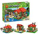 Конструктор Lele 33020 (Lego 31048 Minecraft) 3в1 Домик на берегу озера, 404 дет., фото 2